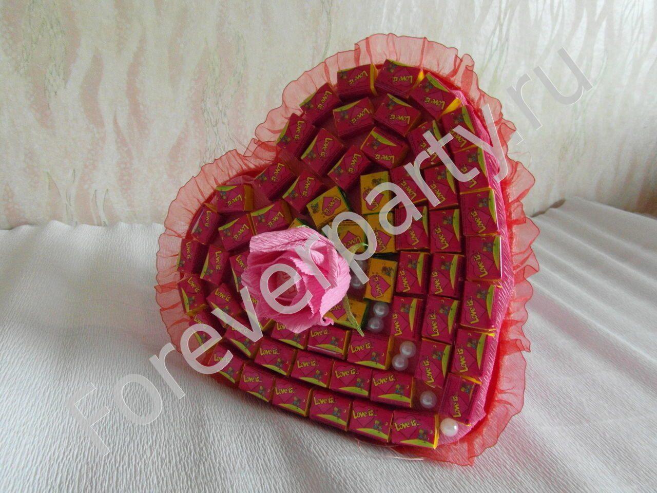 Как сделать из резинок конфеты