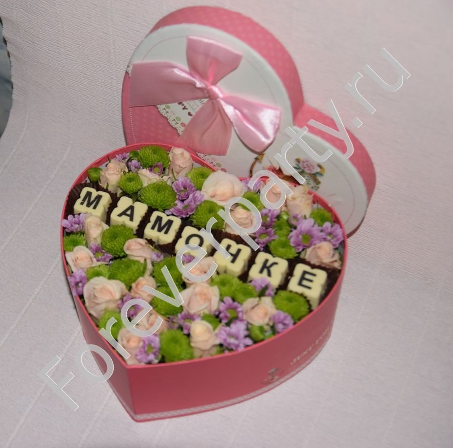 Подарок маме в коробке своими руками 427