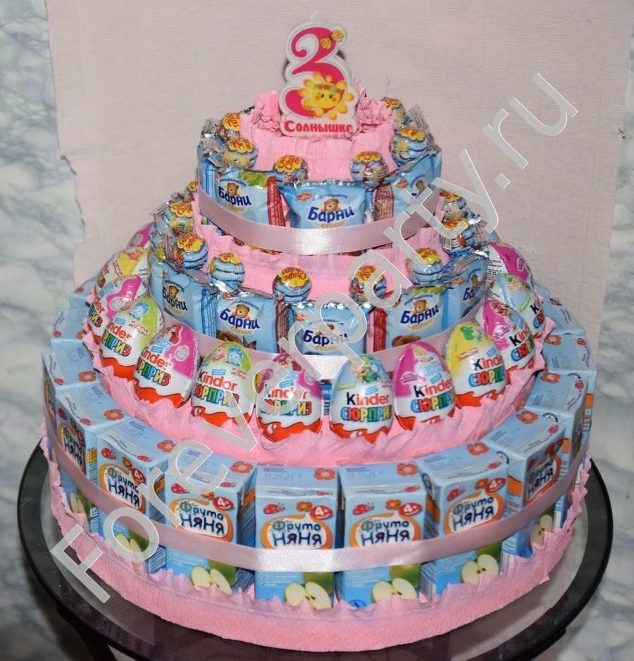 Торт из барни в детский сад своими руками 99
