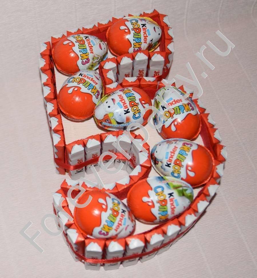 Поделки из яиц от Киндер-Сюрприза