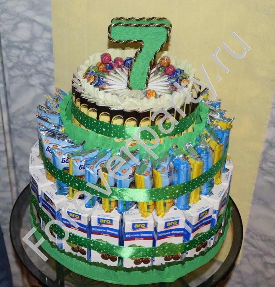 Торт из сока в детский сад своими руками 94