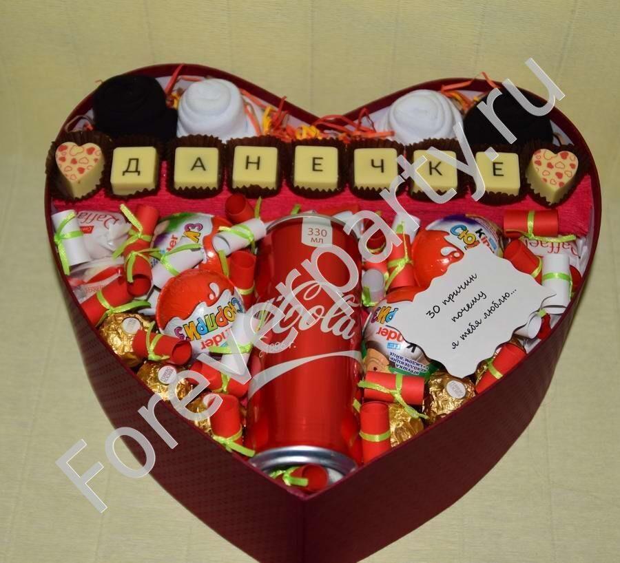 Что положить в подарок из конфет 523